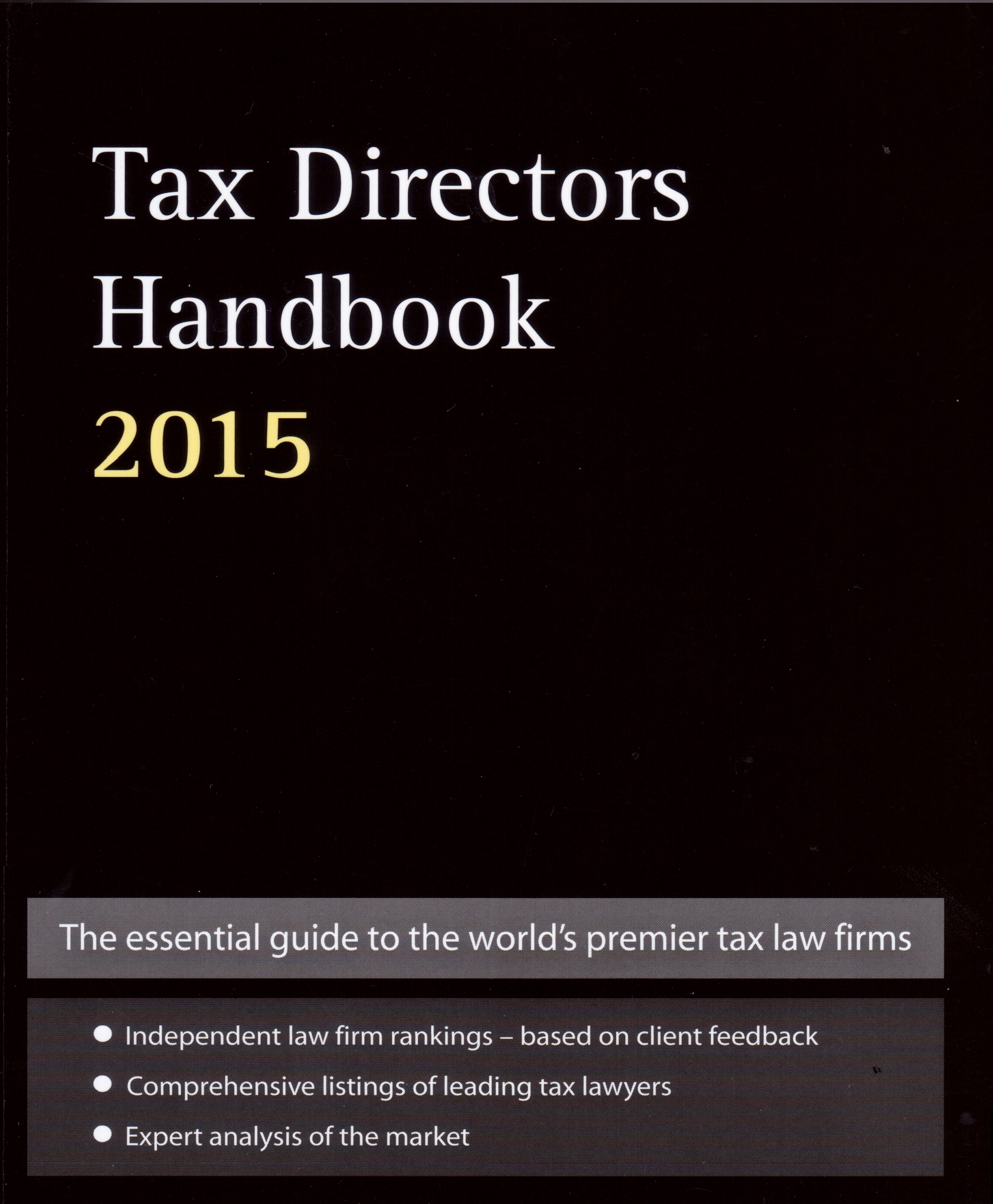 tax directors handbook 2015, leading tax law firm in Latvia, Estonia, Lithuania